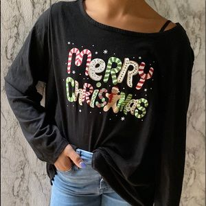 Holiday Time Sz 2x Christmas shirt MERRY CHRISTMAS